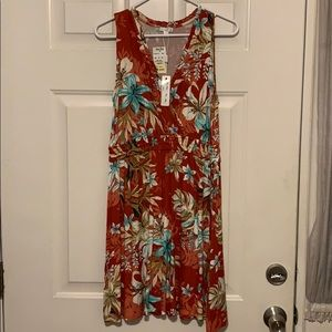Spense Casual Floral Dress with Tags - Medium